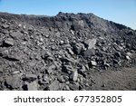 hard coal background | Shutterstock . vector #677352805