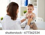 medicine  healthcare  pediatry... | Shutterstock . vector #677362534