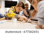 education  children  technology ...   Shutterstock . vector #677362651