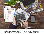 business accounting   Shutterstock . vector #677375041