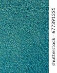 plastered wall background | Shutterstock . vector #677391235