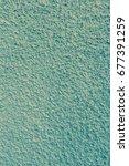 plastered wall background | Shutterstock . vector #677391259