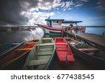 barra do sul  santa catarina ... | Shutterstock . vector #677438545