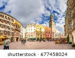 innsbruck | Shutterstock . vector #677458024