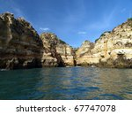 picturesque algarve coast... | Shutterstock . vector #67747078