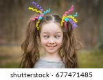 Young Girl With Crazy Hair...