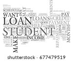 what to do when a student loan... | Shutterstock .eps vector #677479519