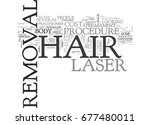 what the cost of laser hair... | Shutterstock .eps vector #677480011