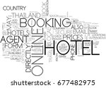 what s the best way to book... | Shutterstock .eps vector #677482975