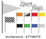 sport flags collection against... | Shutterstock . vector #67748479