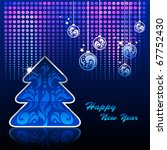 background for new year and for ... | Shutterstock .eps vector #67752430