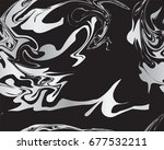 marble silver texture seamless... | Shutterstock .eps vector #677532211