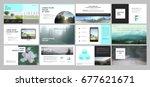 original presentation templates ... | Shutterstock .eps vector #677621671
