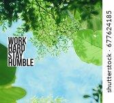inspiration motivation quote...   Shutterstock . vector #677624185