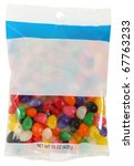 bag of colorful jelly beans 15... | Shutterstock . vector #67763233