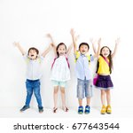 Group Of Happy Smiling Kids...