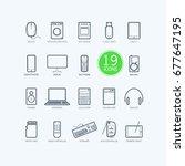 Creative Electronics Icons....