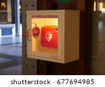 defibrillator | Shutterstock . vector #677694985