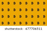 bitcoin straight pattern... | Shutterstock . vector #677706511