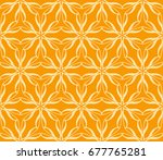 seamless vector texture with an ... | Shutterstock .eps vector #677765281