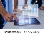 augmented reality  ar ... | Shutterstock . vector #677778379