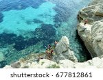 italy july 2017   view of the... | Shutterstock . vector #677812861