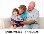 grandmother  grandfather and... | Shutterstock . vector #67782025