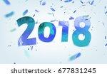 stock vector illustration ice... | Shutterstock .eps vector #677831245