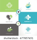 medical and health care... | Shutterstock .eps vector #677857651