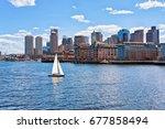 Sailboat Traveling Across...