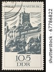 east germany  ddr    circa 1966 ... | Shutterstock . vector #67786822