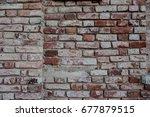 old brick walls close up.   Shutterstock . vector #677879515