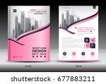 annual report brochure flyer... | Shutterstock .eps vector #677883211