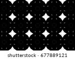 ornament with elements of black ... | Shutterstock . vector #677889121