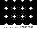 ornament with elements of black ... | Shutterstock . vector #677889139
