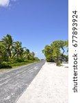 Rangiroa Atoll Au Milieu Du...