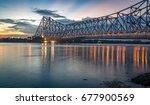 Historic Howrah Bridge On The...