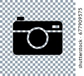 digital camera sign. vector.... | Shutterstock .eps vector #677909575