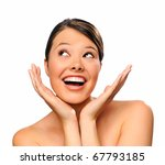 portrait of a smiling young... | Shutterstock . vector #67793185