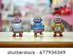 robot hobby and toy | Shutterstock . vector #677934349