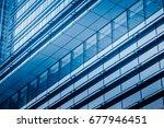detail glass building... | Shutterstock . vector #677946451