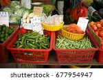 Mix Vegetable On Market Counte...