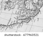 old map america | Shutterstock . vector #677963521