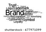 brand word cloud | Shutterstock . vector #677971099