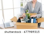 elegant attractive business... | Shutterstock . vector #677989315
