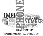 what is imei text word cloud... | Shutterstock .eps vector #677989819
