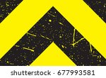 line yellow and black color...   Shutterstock .eps vector #677993581