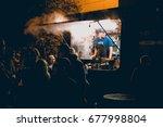 moscow  russia   september 10 ... | Shutterstock . vector #677998804