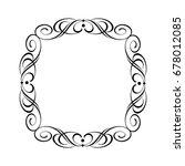 retro frames .vector...   Shutterstock .eps vector #678012085