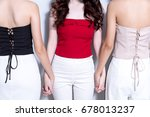 close up picture of many model... | Shutterstock . vector #678013237
